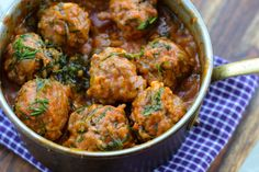 "Albondigas de carne  (Dominican Meatballs)  in my latest …….  Home Cookin' !!! (Great Homes, Great Food!!!)  ... Dominican Cuisine in a tropical ""Concrete Jungle"", Cabrera, Dominican Republic"