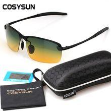 808c26c5b5 2016 Day Night Vision Goggles Driving Polarized Sunglasses for men s car Driving  Glasses Anti-glare Alloy Frame glasses night