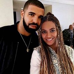 Drake & Beyoncé.  Two of Today's Very Powerful Music Forces.  lmr