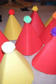 All Things Shea: The Silly Mommy and the Circus Clown Hats