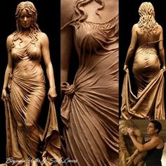 Sculpture by Benjamin Victor Art Sculpture, Stone Carving, Oeuvre D'art, Amazing Art, Awesome, Sculpting, Fantasy Art, Cool Art, Concept Art