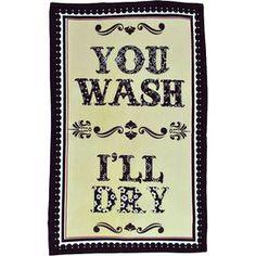 Wash & Dry Dishtowel (Set of 2)