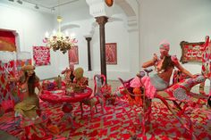 """SANTA AGATHA LA TORERA"" - OLEK  - Delimbo Artspace"