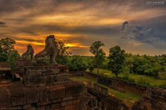 """See 7056 photos from 22636 visitors about sunrise, guide, and sunsets. """"The biggest ancient temple complex in the world, such incredible architecture. Angkor Wat, Beautiful Places In The World, Vacation Destinations, Cambodia, Holiday Fun, Monument Valley, Mount Rushmore, Sunrise, Tours"""