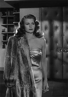 theroning: Rita Hayworth in Gilda - Summers in Hollywood Viejo Hollywood, Hollywood Icons, Old Hollywood Glamour, Golden Age Of Hollywood, Vintage Hollywood, Hollywood Actresses, Classic Hollywood, Actors & Actresses, Katharine Hepburn