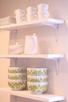 DIY Easy Kitchen Shelves are functional & beautiful!