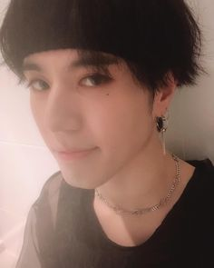 Maknae Yugyeom 💕 my page for more pic Got7 Yugyeom, Youngjae, Beautiful Voice, Most Beautiful, Wang Jackson, Pearl Earrings, Hoop Earrings, Korean Bands, Jinyoung