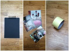 DIY, minimalistyczny album ze zzdjęciami