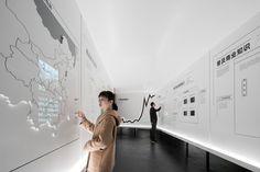Museum of Zhang Zhidong in Wuhan - Stones Design Lab. Design Lab, Pop Design, Hall Design, Layout Design, Design Museum, Museum Exhibition Design, Exhibition Display, Exhibition Space, Interactive Exhibition