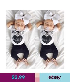 07e8d1f988f7 Newborn Toddler Infant Baby Girl Romper Jumpsuit Bodysuit Outfit Sunsuit  Clothes  ebay  Fashion Baby