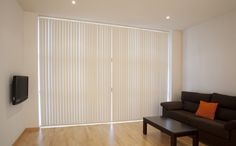Your vertical blinds can also be use as your focal point