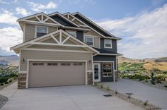 Home for Sale - 4611 Bellevue DR, Vernon, BC V1T 9L5 - MLS® ID 10081427.  3 bedroom 2.5 bath DUPLEXES with attached front garage and full walk out basement. Total of 34 units to be built with registration this fall. $1000 refundable deposit holds the lot of your choice. 5% down starts construction. High-end finishing