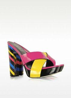 New Arrivals: Loriblu - Multicolor Patent Leather...