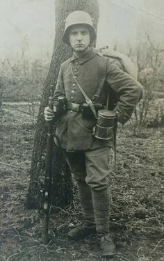 WWI German soldier