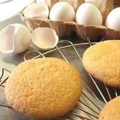Eierkoeken - a biscuitlike spongy shortcake called eggcookies