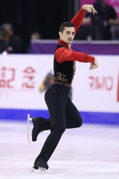 Javier Fernandez (Spain) -- Love him.