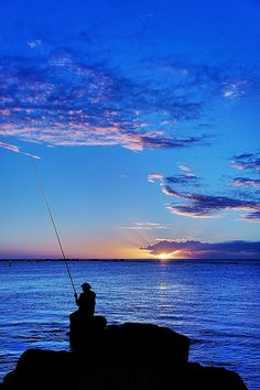 Tamarin, Mauritius Fishing somewhere like this is my dream