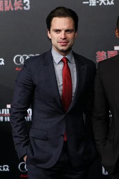 Sebastian Stan at the Captain America: Civil War Beijing Premier
