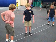 Yellow and Gold Chinese Jump Rope video.  Good ideas for indoor pe and recess.  Watch progressions.