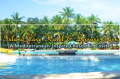 Island Cove Hotel and Leisure Park is idly sitting in an expansive 36 hectares of land in Kawit, Cavite. Island, Park, Inspiration, Biblical Inspiration, Islands, Parks, Inspirational, Inhalation