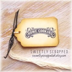 HOME COOKING Tags ... Baked Food Buffet by SweetlyScrappedArt
