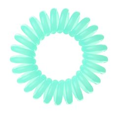Invisibobble Traceless Hair Ring in Pastel Green Scrunchies, Coil Hair Ties, Spiral Shape, Hair Rings, Hair Tools, Hair Type, Mint Green, Ponytail, Hair Clips
