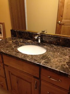 Granite Vanity by R&S Marble
