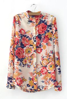 Bouquet blouse-purchased! Don't make fun of me for liking grandma floral prints. Haha.