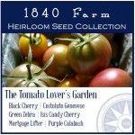 The Tomato Lover's Garden at 1840 Farm