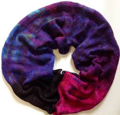 Hand dyed 4ply sock yarn  gradient  438 yds approx