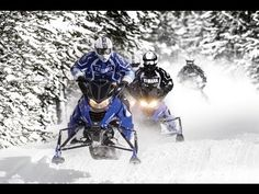 2014 Yamaha Viper X-TX SE Snowmobiling Video