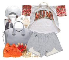 """""""MIAMI"""" by oh-aurora ❤ liked on Polyvore"""