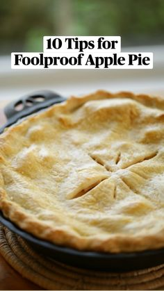 Apple Pie Recipe Easy, Best Apple Pie, Apple Pie Recipes, Baking Recipes, Thanksgiving Desserts Easy, Fall Dessert Recipes, Great Desserts, Fall Desserts, Irish Desserts