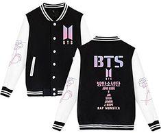 Independent Korean Kpop Bts Hooded Zipper Sweatshirt Letter Printed Jungkook Jin Jimin V Suga Long Sleeve Baseball Jacket Coat Women Men Elegant Shape Women's Clothing