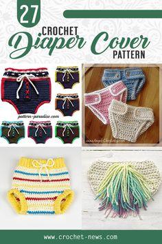 31 Crochet Diaper Cover Patterns Newborn Crown, Newborn Hats, Crochet Bebe, Crochet For Boys, Crochet Baby Clothes, Crochet Baby Hats, Diaper Cover Pattern, Booties Crochet, Diaper Covers