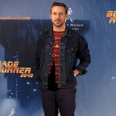 Simple, effective layering from Mr. Gosling here!