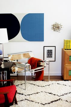 Souk Wool Rug from west elm #design // #interior // #livingroom // #midcentury