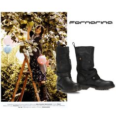 #Fornarina boots from FW14-15 collection on #GlamourItalia #press #myFornarina