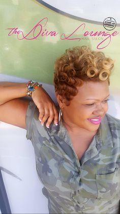 The Diva Lounge Hair Salon  Montgomery, Alabama  Larnetta Moncrief, Stylist/Owner