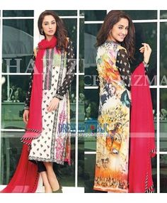 Embroidered Lawn Prints Collection Pakistani 2015 UK - Charizma