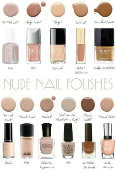 Nude Nail Polishes