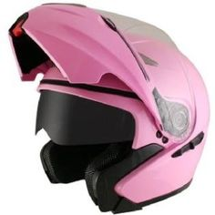 Hawk GLD-902 Pink Motorcycle Helmet   www.allsporthelmets.com  - sport helmets for men women and children