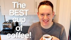 I LOVE coffee! It's my favourite thing to drink! So with that in mind, I decided to make this video about how to make the BEST cup of coffee at home, and w. I Love Coffee, Coffee Cups, Channel, Good Things, Youtube, How To Make, Coffee Mugs, Youtubers