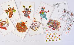 African Christmas Postcards Tracy Paul, from www.macaroon.co.za