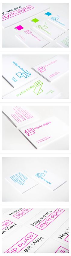 Styria Digital - Branding by moodley brand identity - Today Pin Corporate Identity, Corporate Design, Business Branding, Business Card Design, Logo Branding, Graphic Design Branding, Identity Design, Visual Identity, Brand Identity