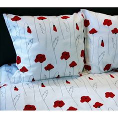 Poppy Linen Bed set   Linen Duvet Cover  Cotton by CottonMood
