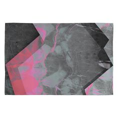 Emanuela Carratoni Marble and Rose Woven Rug | DENY Designs Home Accessories