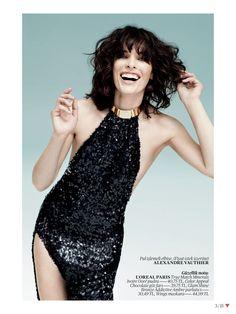 Milla Jovovich in Alexandre Vauthier, by Sebastian Faena for Vogue Turkey May 2013
