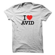 I Love AVID T Shirts, Hoodies. Get it here ==► https://www.sunfrog.com/LifeStyle/I-Love-AVID.html?41382