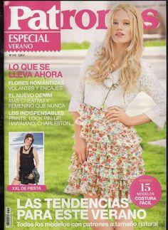 Mujeres y alfileres: Revista Patrones Nº315 con moldes para descargar